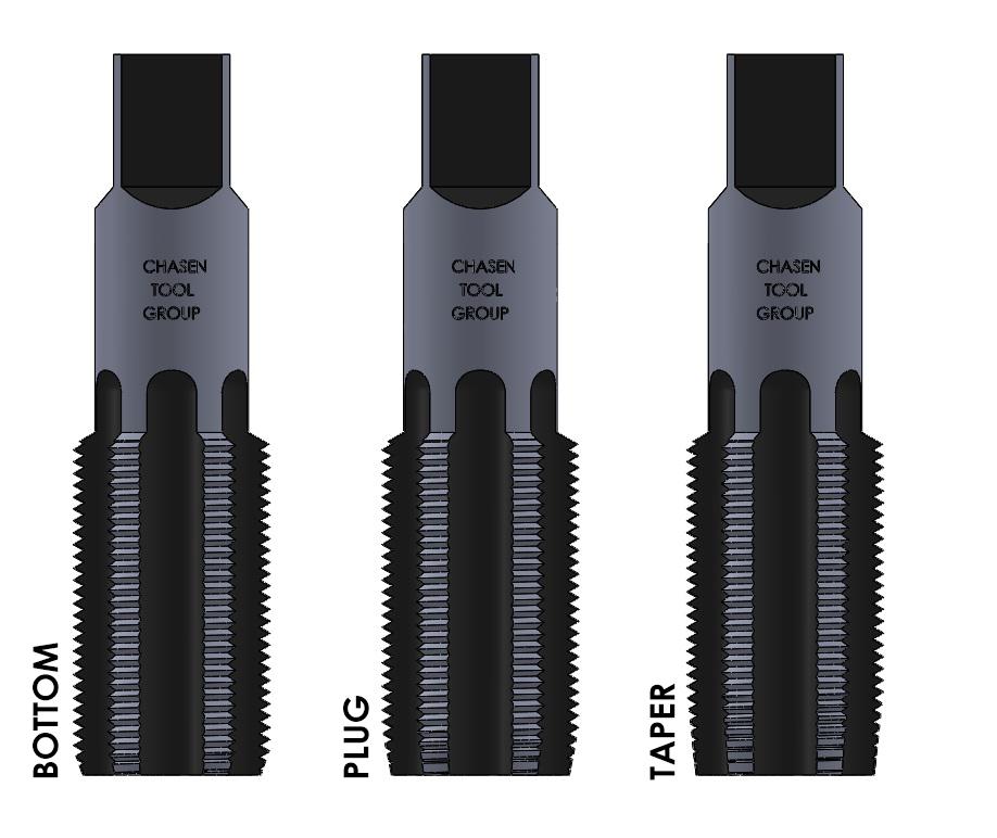 High Speed Steel Hand Tap Special Thread 1//2-16 tap thread size