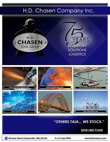 2018 H.D. Chasen Co. Line Card