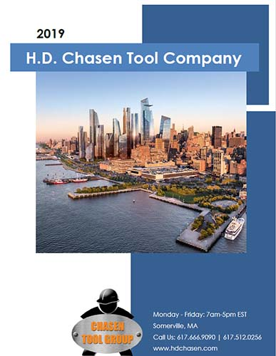 2019 H.D. Chasen Steel Worker Hand Out