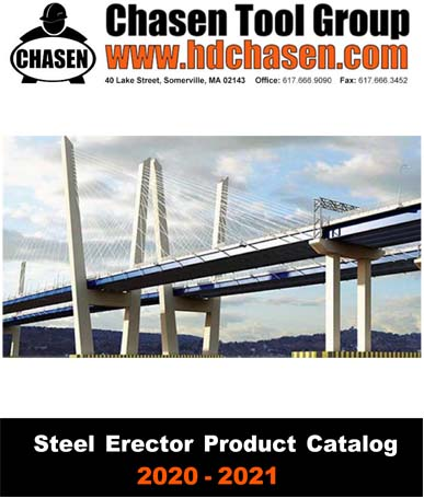2020 H.D. Chasen Steel Erector Hand Out