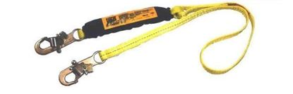 Picture of Shock Absorbing Lanyard 6' / Standard Snap Hook at End