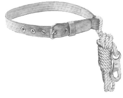 Picture of Safety Belt With Rope