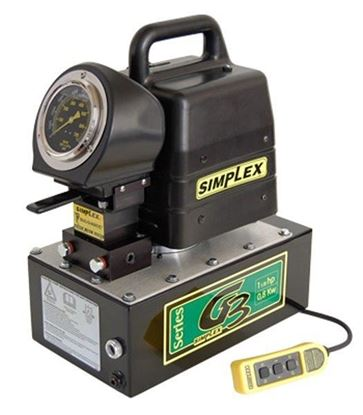 Picture of Hydraulic Power Pump 1-1/8 HP /10 - 200 Ton