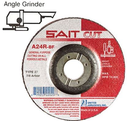 Picture of Grinding Wheel T27 General Purpose 7 X 1/4 X 7/8 / 20081