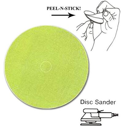 Picture of Trizact Film Disc PSA 5 / A35 Micron Green  (Stainless)