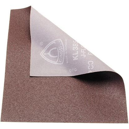 Picture of Aluminum Oxide Cloth Abrasive Sheet 80X (02410)
