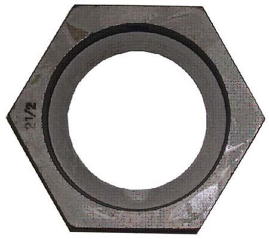 "Picture of Hex Die Adapters 1-1/2"" ID / 2"" Hex"
