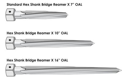 Picture for category Hex Shank Bridge Reamers