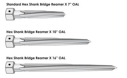 Picture of Hex Shank Bridge Reamers