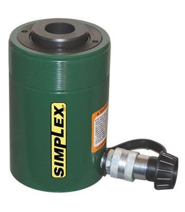 Picture of Hydraulic Ram Cylinder - Single Acting Center Hole