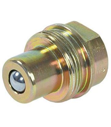 Picture of Male (hose) 3/8 half coupler