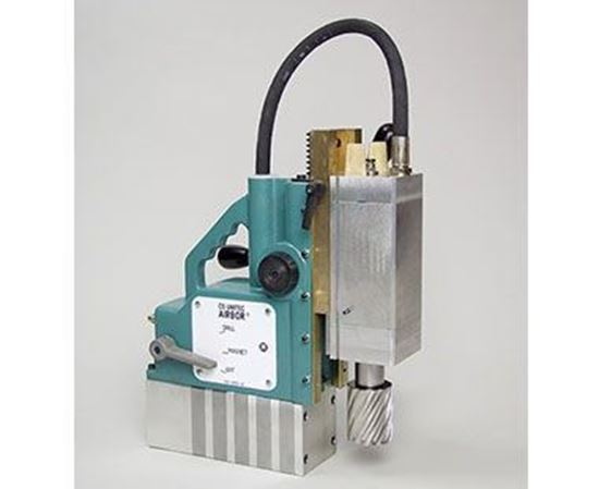 """Picture of Portable Pneumatic Magnetic Drill / 2-1/16"""" Max Diameter (AB-4300-2)"""