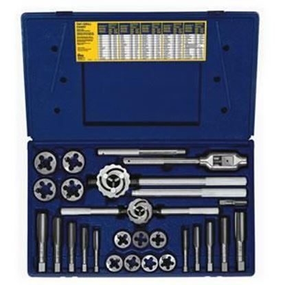 Picture of HANSON® 25-pc Fractional Tap & Adjustable / Solid Round Die Set
