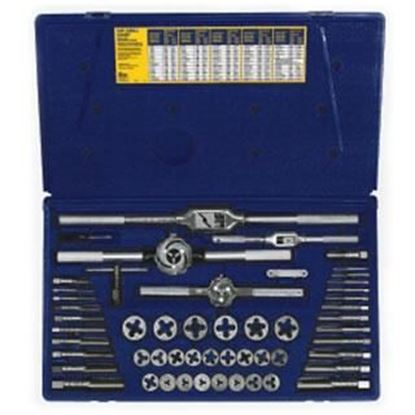 Picture of HANSON® 53-pc Machine Screw / Fractional Tap & Hex Die Set