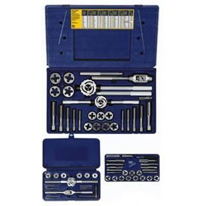 Picture of HANSON® 64-pc Machine Screw / Fractional Tap & Solid / Adjustable Round Die Set
