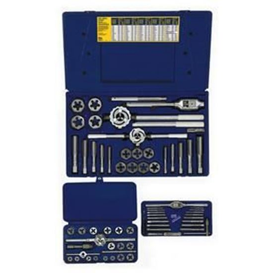 Picture of HANSON® 66-pc Machine Screw / Fractional Tap & Hex Die Set