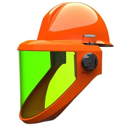 Picture of Arc Flash Protection Face Shield | AS2000HAT