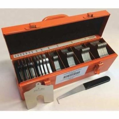 """Picture of Slotted Shim Kit  Size """"B"""" (3x3) Mini"""