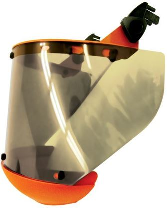 Picture of Face Shield w/ Chin Cup & Hard Hat Bracket | AS1000NZ