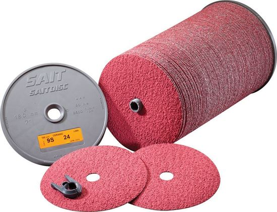Picture of 3M™ Fibre Disc 381C Resin Fiber Disc 5 X 7/8AH 120X
