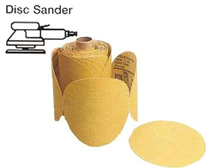 """Picture of Disc Roll PSA Gold 5"""" 600X / 100pc Roll"""