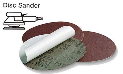 Picture of Resin Bond Cloth PSA Disc 6 / 120X / 50pcs per box