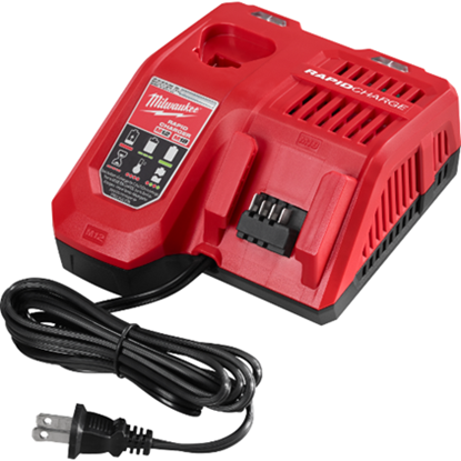 Picture of MILWAUKEE M18 & M12 Batteries Rapid Charger (48-59-1808)