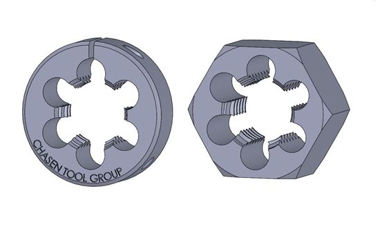 Picture of Thread Die 2-3/4 Fractional
