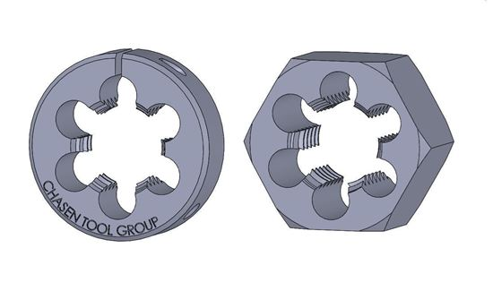 Picture of Thread Die 33/64 Fractional