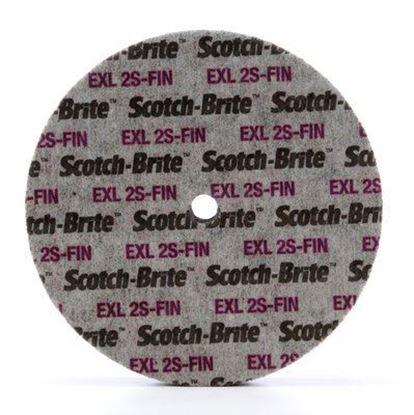 """Picture of Scotch-Brite™ EXL Unitized Wheel 6"""" X 1/4"""" X 1/2"""" 2SFN (13741)"""