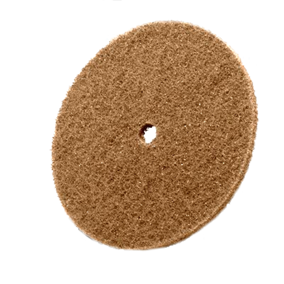 Picture of Scotchbrite Cut & Polish Discs - 6 x 1/2 - Medium - Brown (00828)