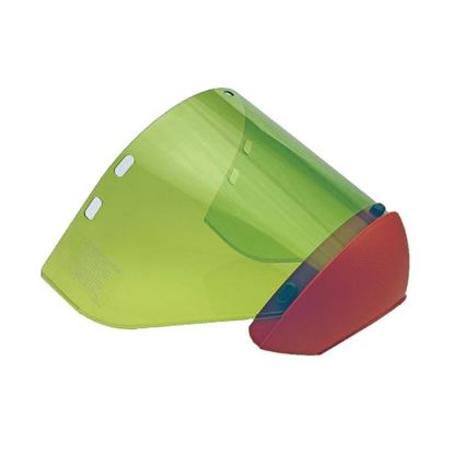 Picture of Polycarbonate Replacement Face Shield w/ Chin Guard | AS1000PC