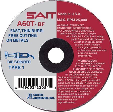Picture for category Abrasive Wheels  Type 1