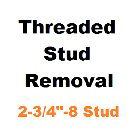 "Picture for category Stud Removal  2-3/4""-8"