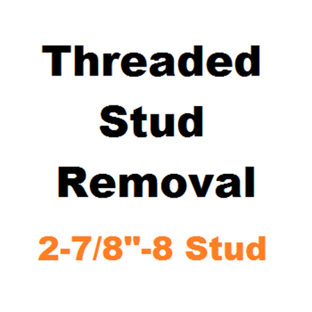 "Picture for category Stud Removal  2-7/8""-8"
