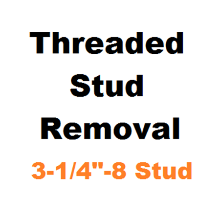 "Picture for category Stud Removal  3-1/4""-8"