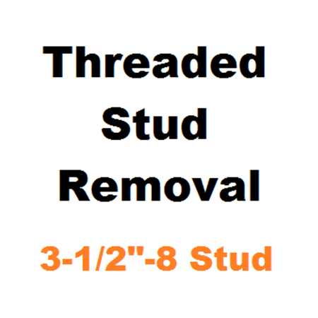 "Picture for category Stud Removal  3-1/2""-8"