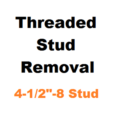 "Picture for category Stud Removal  4-1/2""-8"