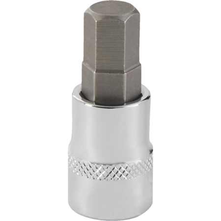 Picture for category Metric Hex Bit Sockets | Chrome