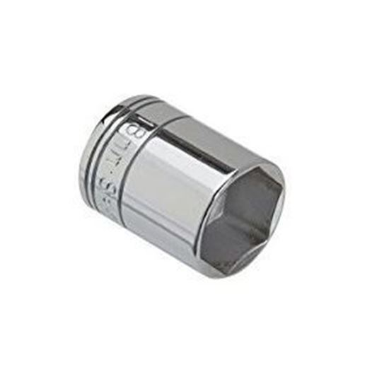 Picture of Chrome Socket  / 35mm  3/4dr