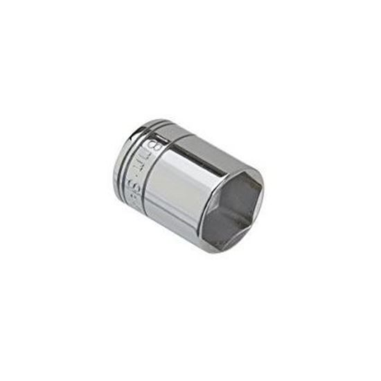 Picture of Chrome Socket  / 15mm  1/4dr