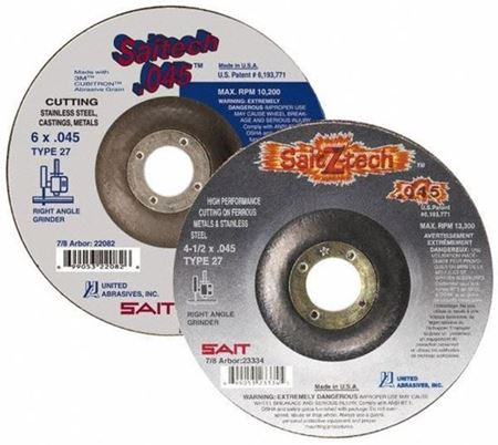 Picture for category Depressed Center Abrasive Wheels 6""