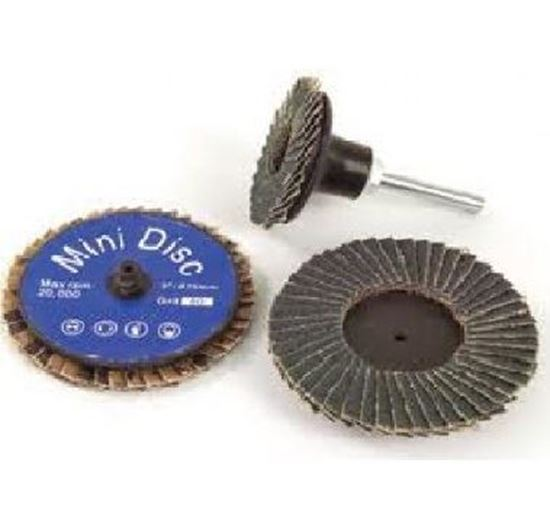 "Picture of Mini Flap Disc 3"" Type R (Roloc)  ZA40"