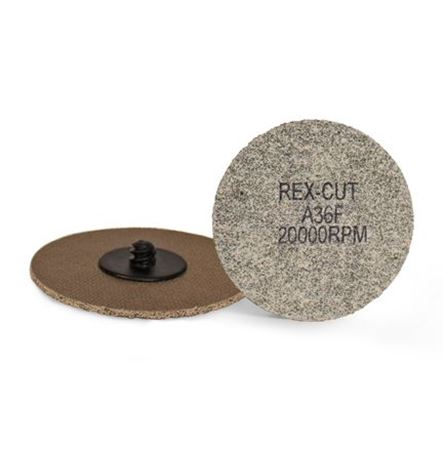 Picture for category Rex-Cut Cotton Fiber Quick Change Discs