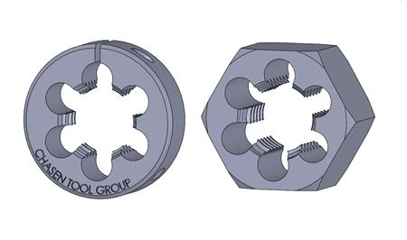 Picture for category Metric Thread Dies | M20 - M29