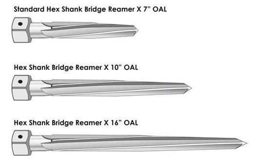 Picture of Hex Shank Bridge Reamer 7/8