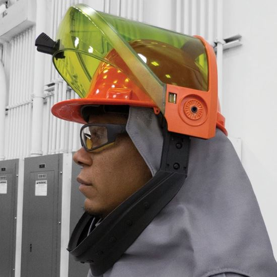 Picture of Arc Flash Lift Front Hood   40 Cal