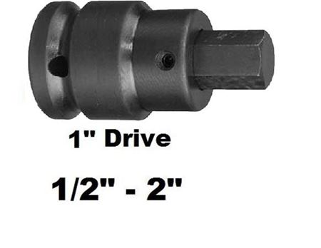 """Picture for category Hex Bit Impact Socket 1""""dr"""