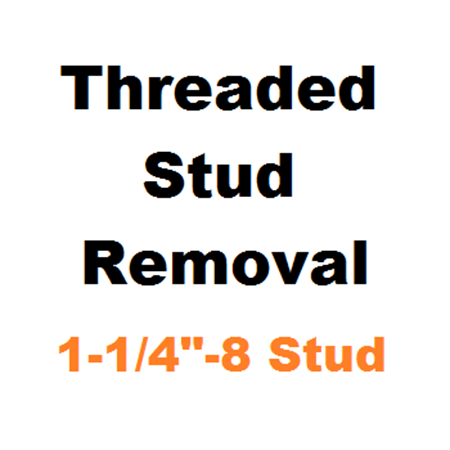 "Picture for category Stud Removal  1-1/4""-8"