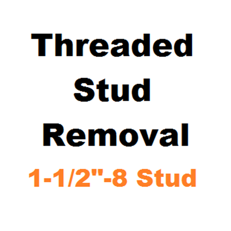 "Picture for category Stud Removal  1-1/2""-8"